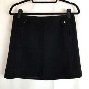 J Crew Factory Wool Mini Skirt